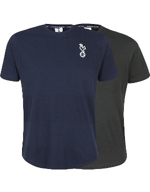 Spurs Mens Textured Stripe T-Shirt