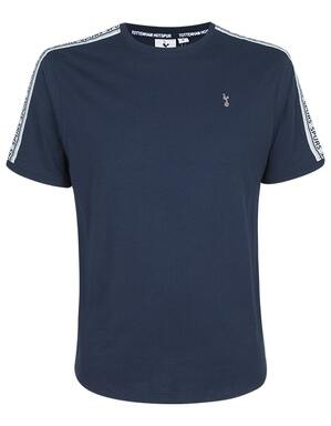 Spurs Mens Tape Detail T-Shirt