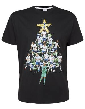 Spurs Adult Player Christmas Tree T-Shirt