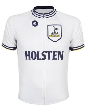 Spurs Mens White Retro Cycle Jersey