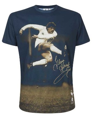Spurs Mens Hoddle Photographic T-Shirt
