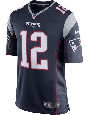 Nike Adult New England Patriots Tom Brady NFL Game Jersey