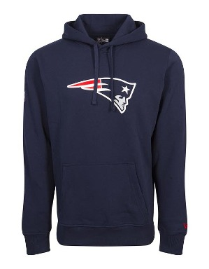 New Era Adult New England Patriots Logo Hoodie