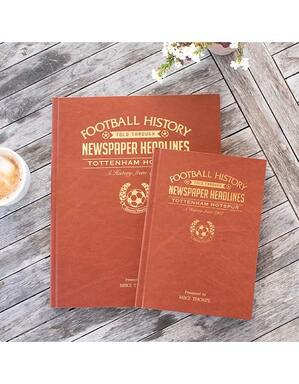 Spurs A4 Historic News Book