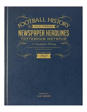 Spurs A3 Historic News Book