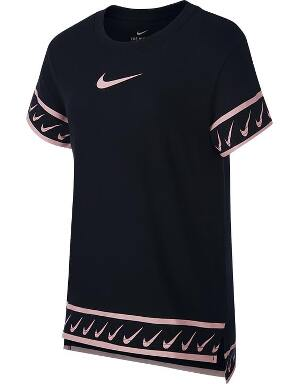 Nike Girls Black Studio T-Shirt