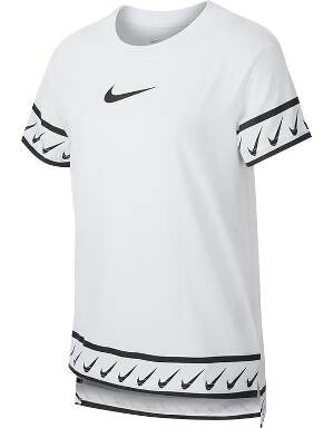 White Nike Kids NSW Studio T-Shirt 2019/20