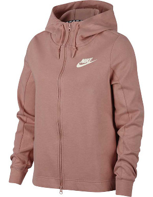 Nike Ladies NSW Optic Full Zip Hoodie