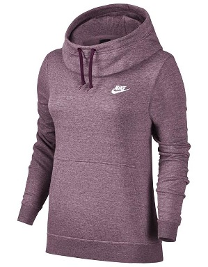Nike Ladies Funnel Fleece Hooded Top