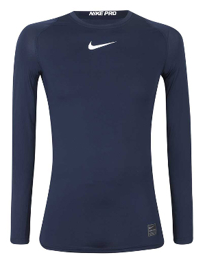 Nike Pro Navy Compression Top 2018/19