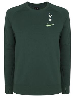 Spurs Nike Adult Crest Fleece Crew Jumper 2020/21