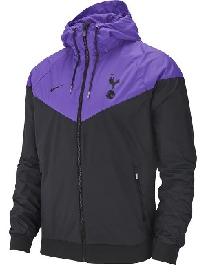 Spurs Nike Adult Purple Windrunner Jacket 2018/19