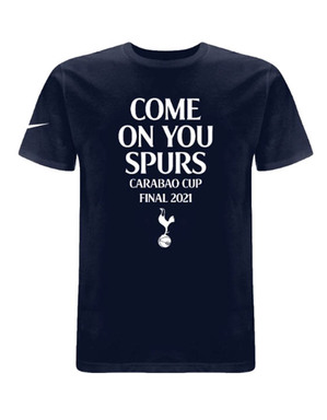 Spurs Nike Mens Carabao Cup Final T-Shirt
