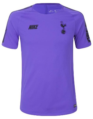 Spurs Nike Adult Purple Training T-Shirt 2018/19