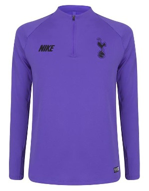 Nike Purple Drill Training Top