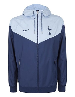 Spurs Mens Light Blue Windrunner 2017/2018