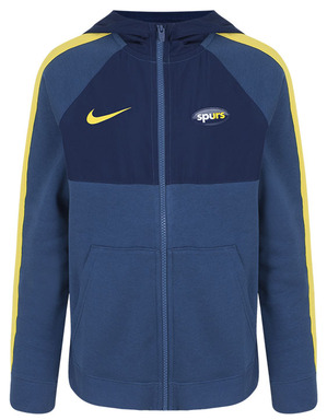 Spurs Nike Youth Hybrid Track Jacket