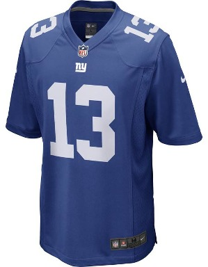 Nike Adult New York Giants Odell Beckham Jr NFL Game Jersey