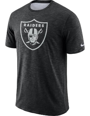 Nike Adult Oakland Raiders T-shirt