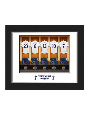 Personalised Dressing Room Print In Folder (Pers)