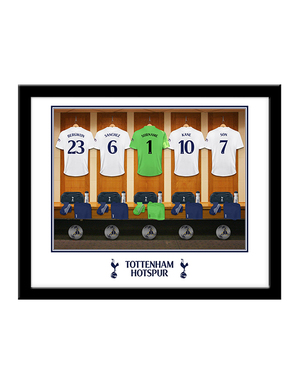 Personalised Framed Goalkeeper Dressing Room Picture