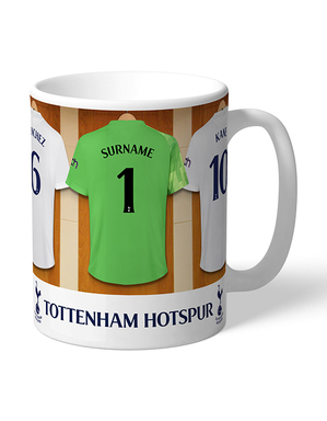 Spurs Personalised GK Dressing Room Mug