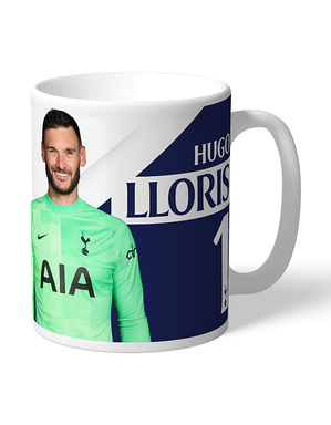 Spurs Personalised Lloris Autograph Mug