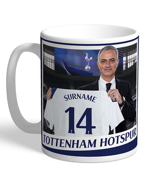 Spurs Personalised Magazine Cover Mug