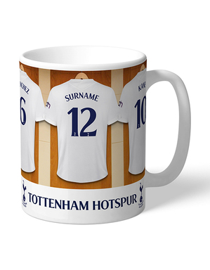 Spurs Personalised Dressing Room Mug