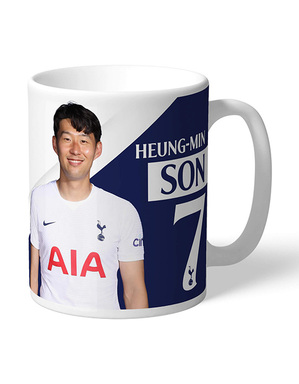 Spurs Son Personalised Autograph Mug