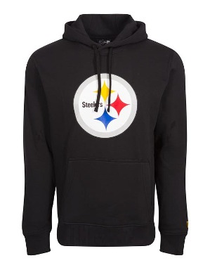 New Era Adult Pittsburgh Steelers Logo Hoodie