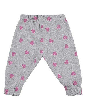 Spurs Baby Girl Heart Print Jogger