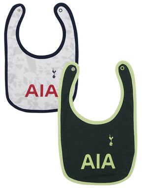 Spurs Baby 2 Pack Kit Bibs 2020/21