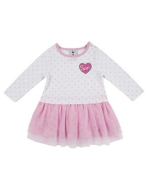 Spurs Baby Girl Tutu L/S Dress