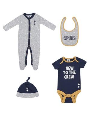 Spurs Baby 4pc New To The Crew Gift Set