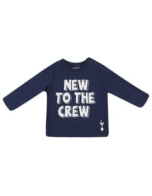 Spurs Baby New To The Crew Tee