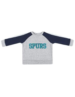 Spurs Baby Boys Tape Sweatshirt