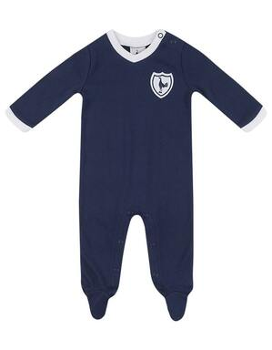 Spurs Baby Retro Sleepsuit