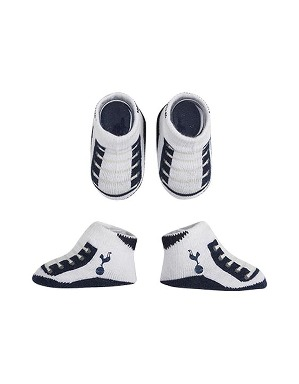 Spurs Baby Boys 2 Pair Bootie Set