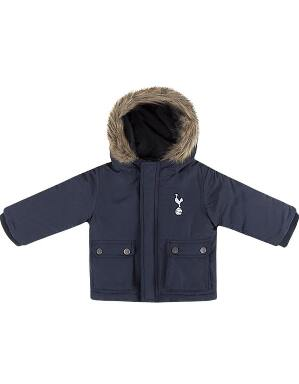 Spurs Baby Fur Trim Park Jacket