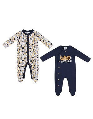 Spurs Baby Boy 2 Pack Sleepsuit