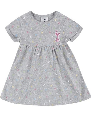 Spurs Baby Girl Smock Dress