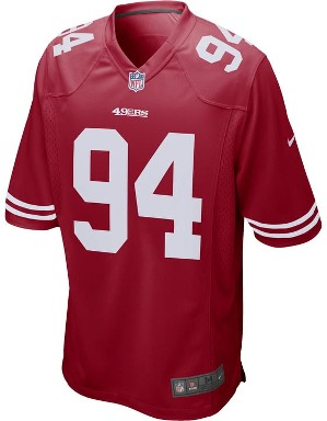 Nike Adult San Francisco 49ers Soloman Thomas NFL Game Jersey