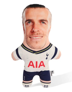 Spurs Snugzy Gareth Bale Mini Me Doll