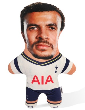 Spurs Snugzy Dele Alli Mini Me Doll