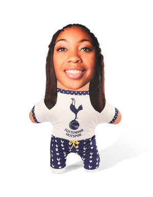 Spurs Snugzy Hearts Mini Me Doll
