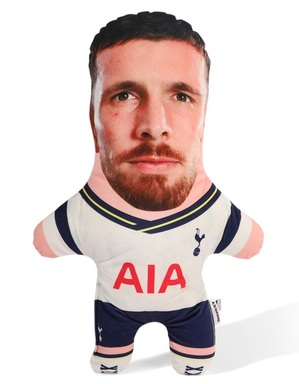 Spurs Snugzy Pierre-Emile Hojbjerg Mini Me Doll