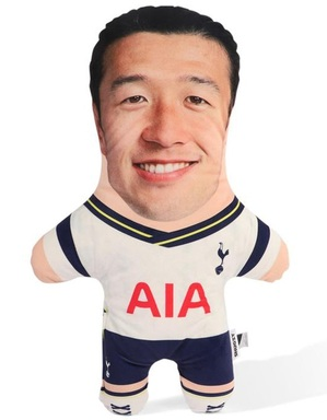 Spurs Snugzy Hueng-Min Son Mini Me Doll