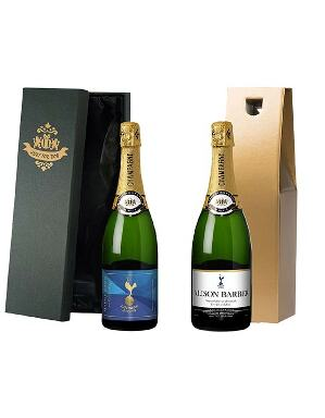 Spurs Personalised Champagne