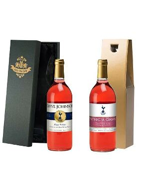 Spurs Personalised Rose Wine